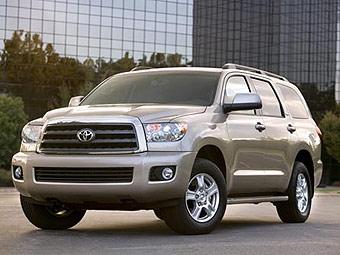 Toyota будет продавать Sequoia и Tundra в России