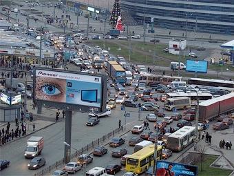 ГИБДД назвала 12 самых опасных перекрестков Москвы