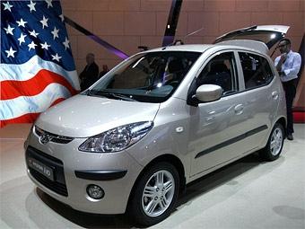 Hyundai хочет продавать в США микролитражку i10