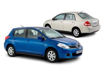 Осенью в России начнутся продажи Nissan Tiida