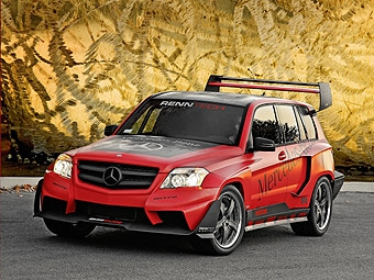 Mercedes-Benz представит на SEMA четыре тюнингованных GLK