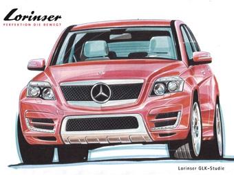 Ателье Lorinser первым доработает Mercedes-Benz GLK