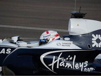 Команда Williams первой показала болид с новой аэродинамикой