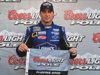 Джимми Джонсон стал главным претендентом на титул в NASCAR Sprint Cup