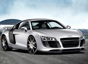 Немцы улучшили аэродинамику Audi R8