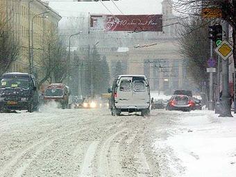 В Москве 24 ноября ожидается снегопад