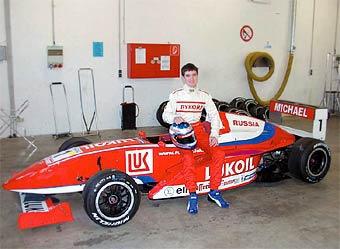 Михаил Алешин показал третье время на тестах во Франции
