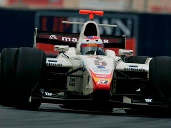 Виталий Петров показал третье время на тестах GP2