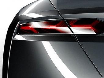 Lamborghini продолжает раскрывать детали внешности новой модели