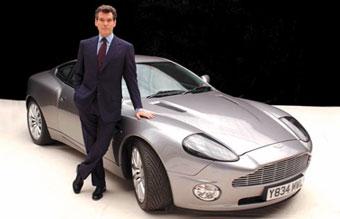 Автомобиль Джеймса Бонда продали по цене стандартной модели