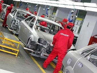 Производство иномарок в России выросло на 41 процент