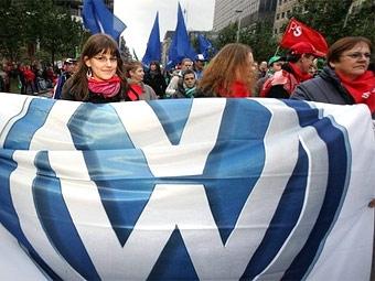 VW сократит производство за счет рождественских каникул