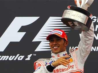 """Гамильтон выиграл Гран-при Германии и возглавил общий зачет """"Формулы-1"""""""