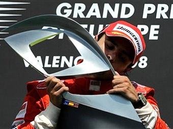 Гран-При Европы выиграл Фелипе Масса