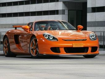 TechArt сделал Porsche Carrera GT еще мощнее