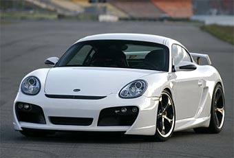 В TechArt подготовили еще одну программу доводки Porsche Cayman S