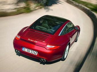 Модель Porsche 911 Targa перенесла фейслифтинг