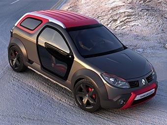 В Бразилии представлен Renault Sandero с трансформируемым кузовом