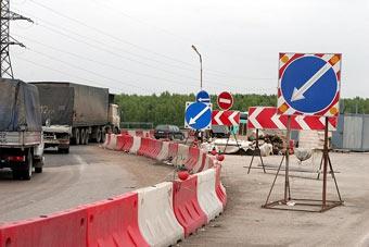 В 2007 году в России построят 500 километров новых автодорог