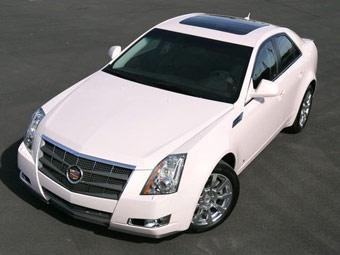 Cadillac выставит на аукцион розовый CTS