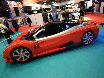 Суперкар Lada Revolution оказался быстрее Porsche Cayman