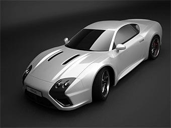 Московская компания E-Go разработала 550-сильный суперкар