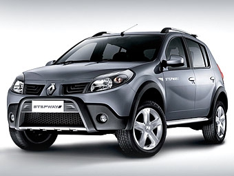 """Компания Renault показала """"внедорожный"""" Sandero"""