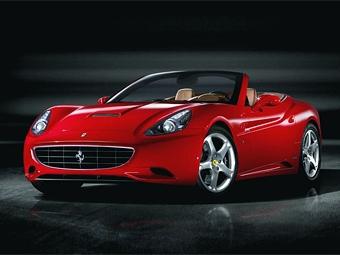 Новая модель Ferrari получила имя California