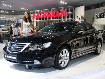 Обновленный седан Honda Legend подорожал на 25 тысяч рублей