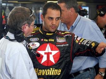 Монтойя одержал первую победу в NASCAR Busch Series