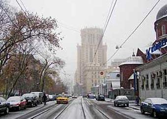 Уборкой снега в Москве занимались восемь тысяч машин