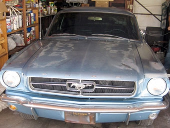 Угнанный 37 лет назад Ford Mustang предлагают вернуть владельцу