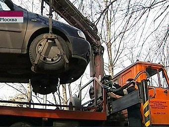 В Москве автомобили со штрафстоянок можно будет забирать в долг
