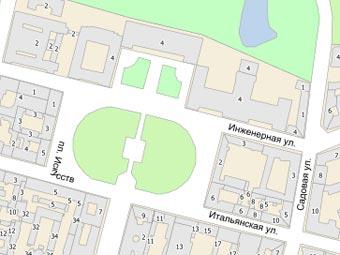 Перед Русским музеем устроили пешеходную зону