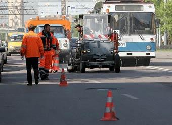 При ремонте московских дорог будут менять два слоя покрытия