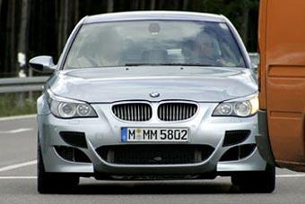 Обновленный BMW M5 может получить мотор с двойным турбонаддувом