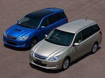 Subaru начала продажи в Японии нового универсала Exiga