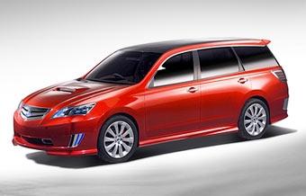 В Токио Subaru выставит прототип новой Legacy и маленький электромобиль