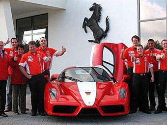 Ferrari будет продавать свои автомобили на Нюрбургринге