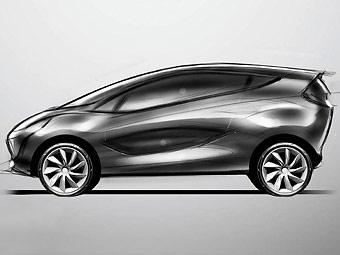 Появились первые изображения новой модели Mazda