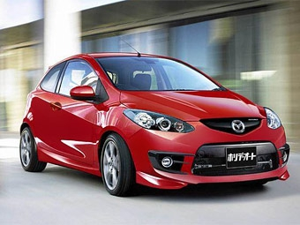 "Mazda готовит ""заряженные"" версии Mazda6 и Mazda2"
