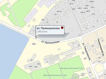 В Москве на два месяца закроют движение по улице Прянишникова