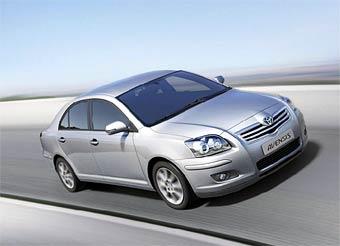 В России начались продажи обновленной версии Toyota Avensis
