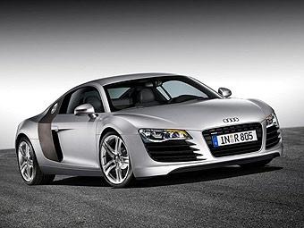 Audi оснастила R8 светодиодной головной оптикой