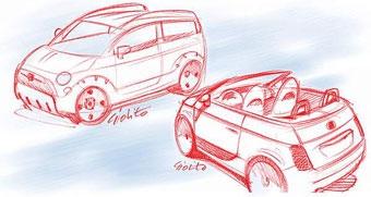 Из Fiat 500 сделают кроссовер и универсал