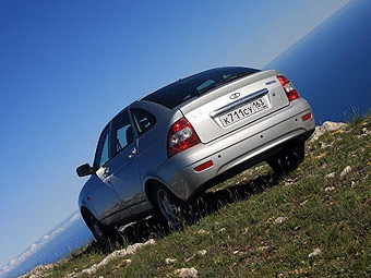 Lada Priora сможет ездить на природном газе