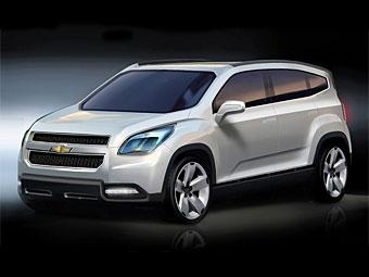 Chevrolet подготовит к Парижу концептуальный минивэн Orlando