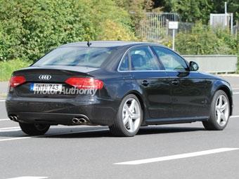 """Появились шпионские фотографии """"заряженной"""" версии новой Audi A4"""