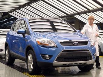 Ford начал выпуск кроссовера Kuga