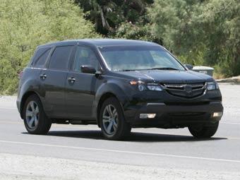 Новый внедорожник Acura MDX проходит тесты